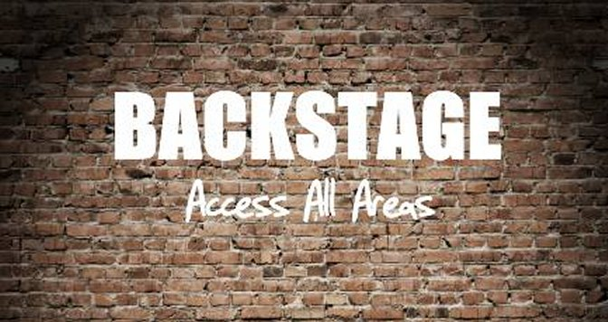 "Neue CD: ""Backstage – access all areas"""