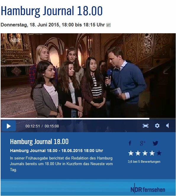 Hamburg Journal Bundeswettbewerb Fremdsprachen
