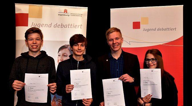 """Schulwettbewerb """"Jugend debattiert"""""""