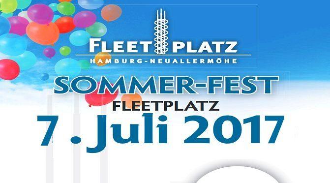 Bühnenprogramm beim Fleetplatzfest (Freitag, 7.Juli 14-18 Uhr)