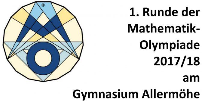 1. Runde der Mathematik-Olympiade 2017