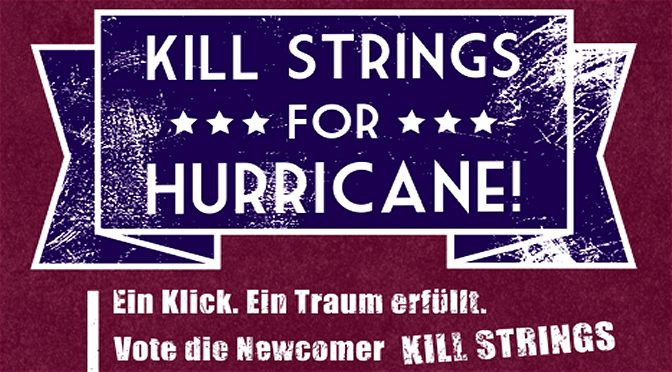 Voting für Kill-Strings beim Hurricane-Festival