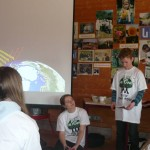 Kilian erklärt den Treibhauseffekt