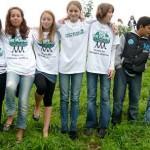 Unsere Gruppe vom Gymnasium Allermöhe