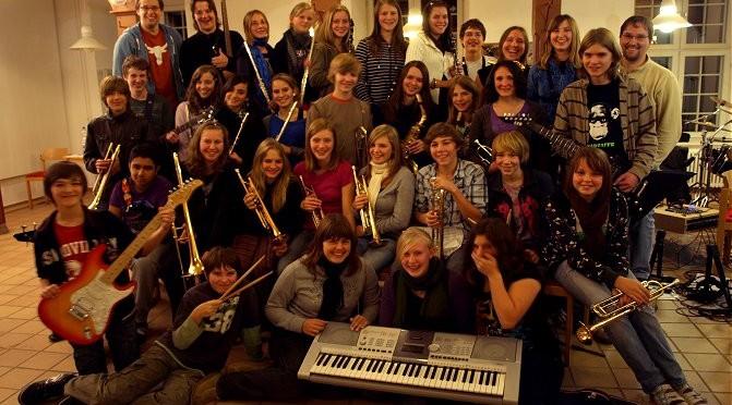 Big-Band-Fahrt nach Noer 2009