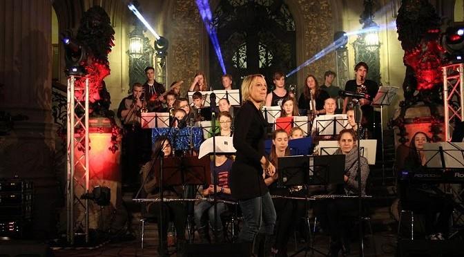 Big-Band bei der Rathausnacht