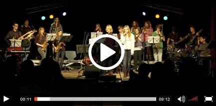 Big-Band beim Deutsch-Französischen Tag (ARTE)
