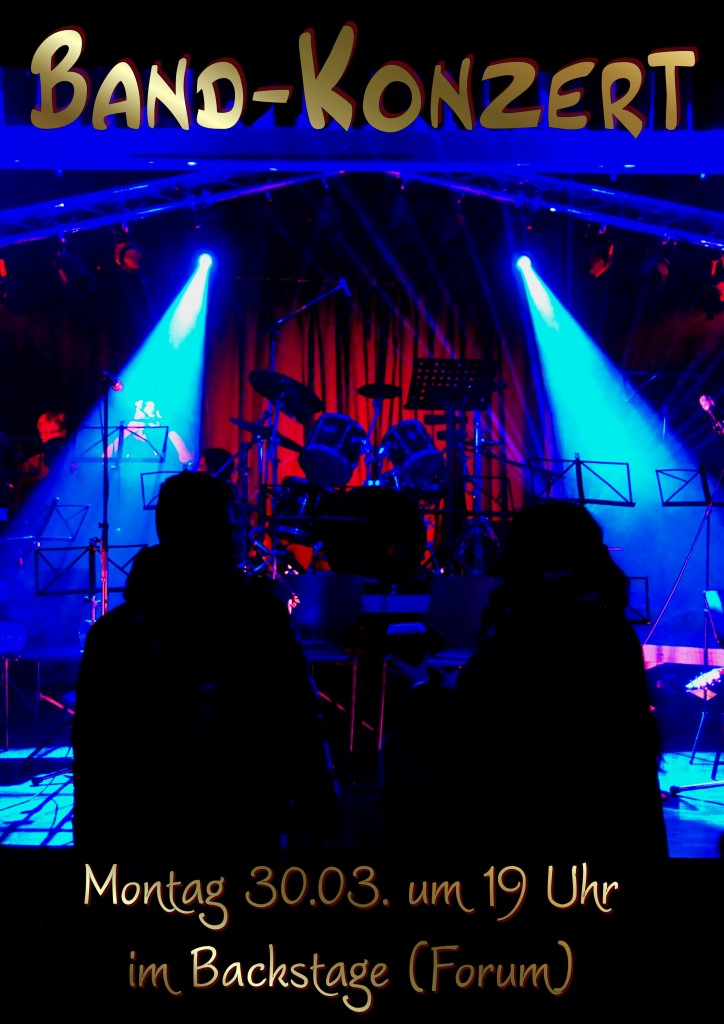 Band-Konzert 30.03.2015