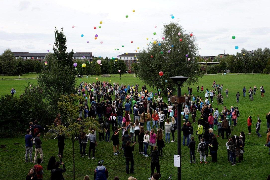 Schuljubiläum - Abschluss Ballons