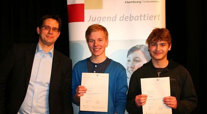 Jugend debattiert 2015 Schulfinale