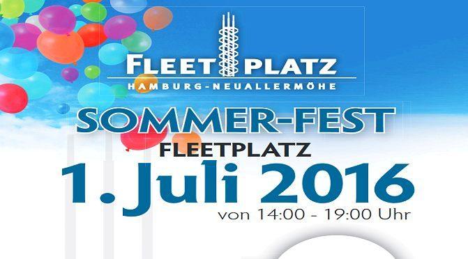 Fleetplatzfest mit Ausstellung und Bühnenprogramm – Freitag, 1. Juli von 14-19 Uhr