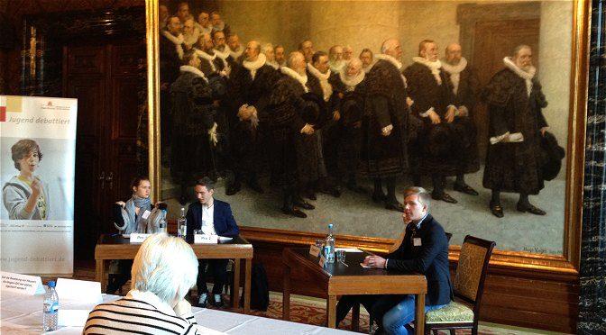 Niveauvolle Debatten im Hamburger Rathaus