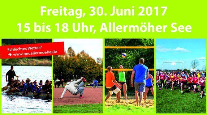 Allermödiade – Sport und Spaß für Jung und Alt (Freitag, 30.6. von 15-18 Uhr)