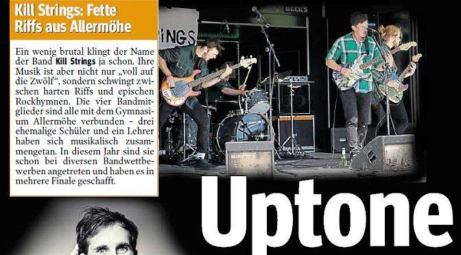 """""""Kill Strings"""" beim Uptone-Wettbewerb der Mopo"""