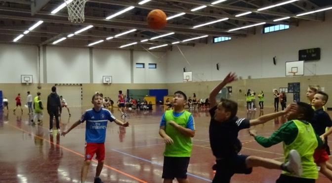 Klarer Sieger beim Streetballturnier