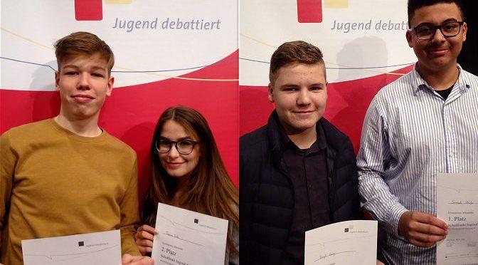 """Schulwettbewerb """"Jugend debattiert"""" am 18.01.2018"""