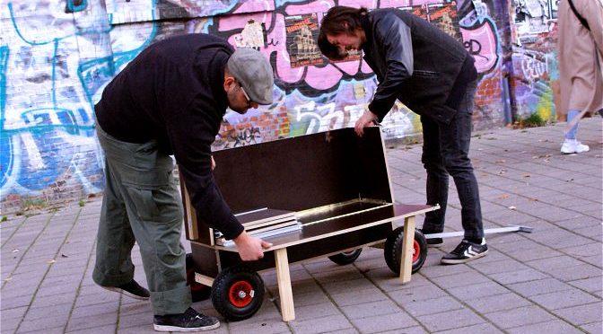 Schlafwagen für Obdachlose