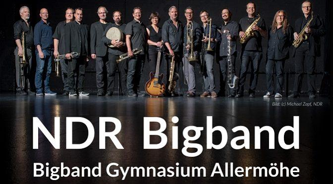 Konzert mit der NDR Bigband – Montag, 17.02. um 19 Uhr